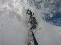 Hintertux Glacier Life in White