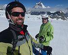 Empezando el verano en Les Deux Alpes y Zermatt