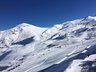 Vista general de valle Nevado