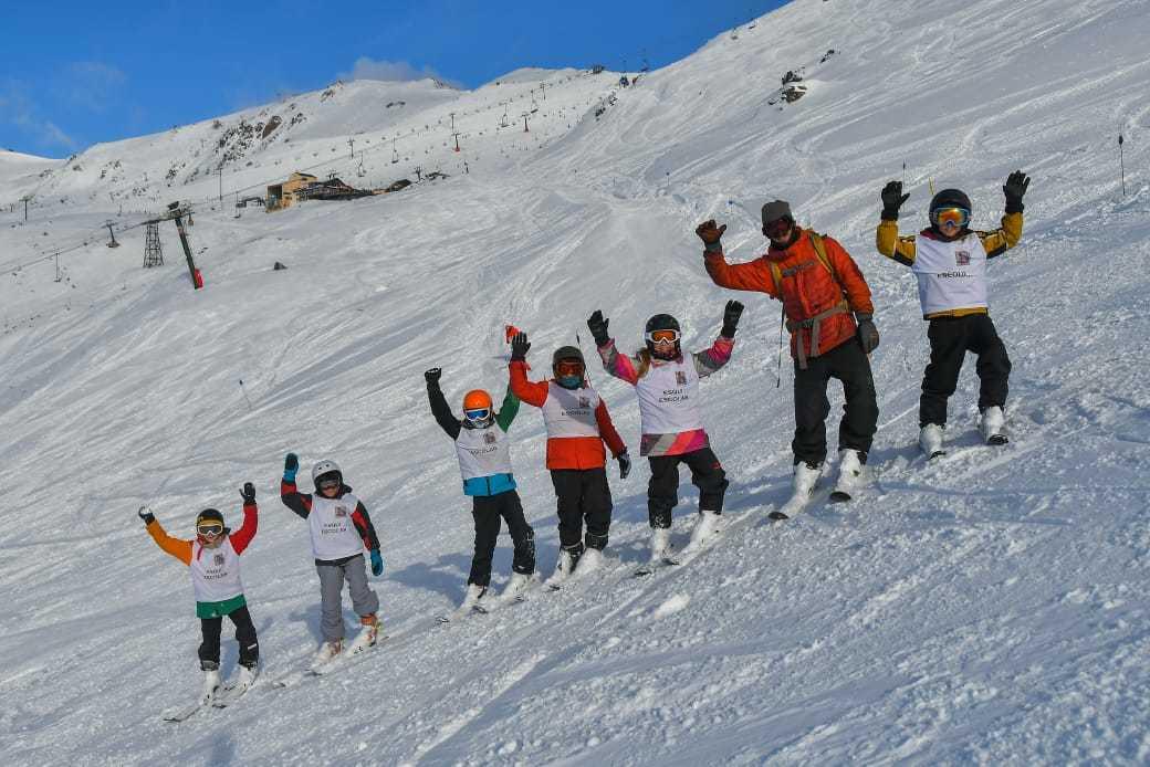 Programa Esquí  Escolar en Catedral: más de 1.500 niños este año