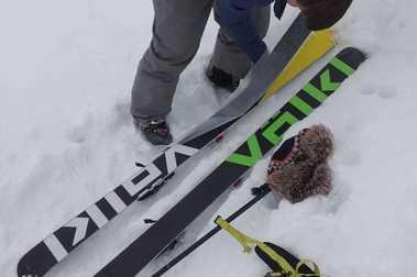 Iniciándome en el esquí de travesía