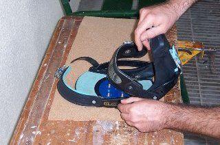 Los inventos de un snowboarder frente a su<BR> discapacidad