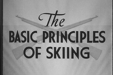 The Basic Principles of Skiing