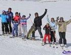 Domingo de esquí en La Parva