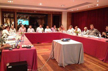 FGC es reuneix amb els agents del territori