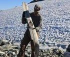 Encuentran un esquí de 1.300 años en Noruega