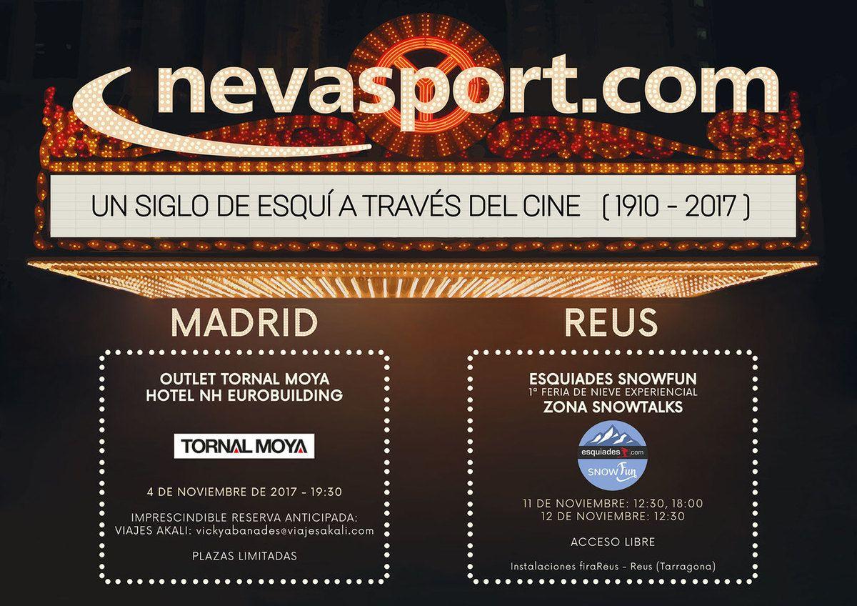 Cartel Cinefórum Nevasport 2017