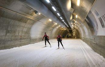 La pista de esquí cubierta más larga del mundo