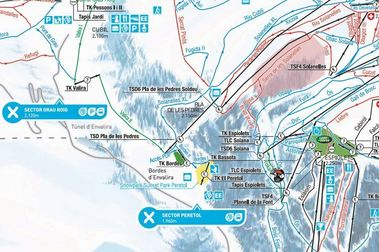 Grandvalira presenta su mapa de pistas 2019-2020 con el nuevo sector El Peretol