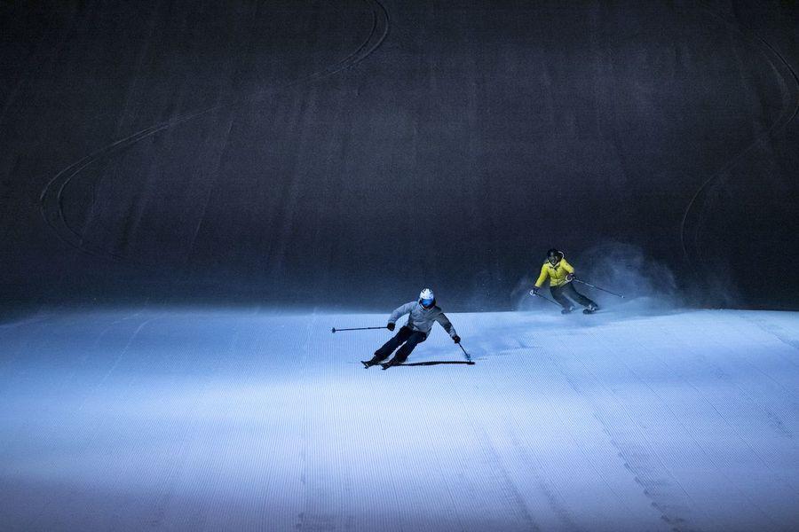 imágenes de Esquí nocturno en Tanndalen (Suecia)