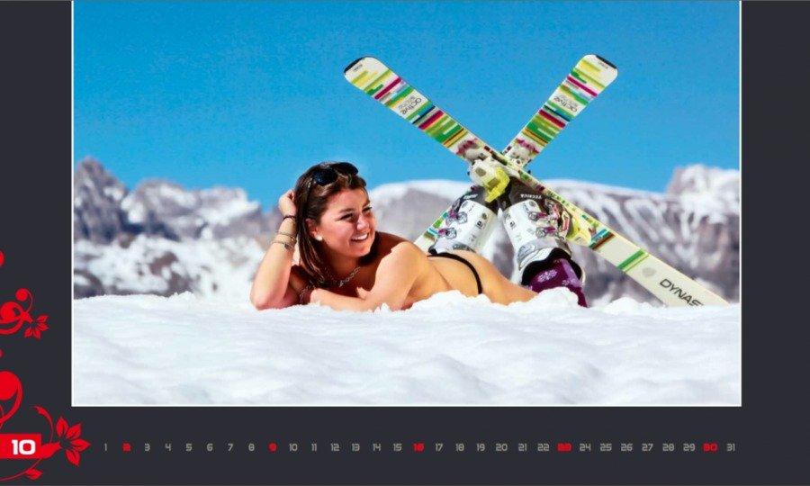 Calendario sexy para la investigación de la leucemia