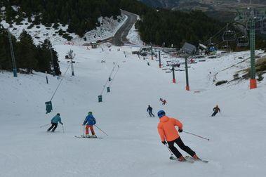 ¡Por fin hemos esquiado!