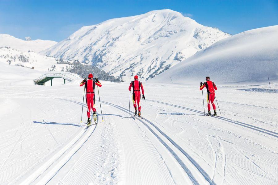 esqui nordico en Candanchú