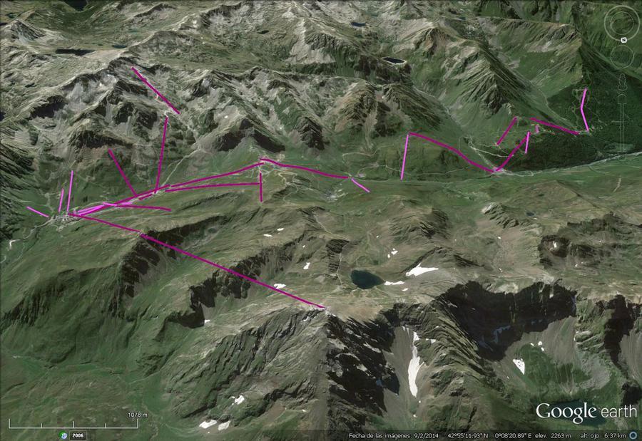 Vistas Google Earth Grand Tourmalet 2015-16