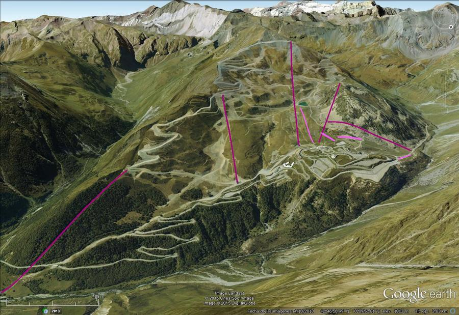 Vistas Google Earth Piau Engaly 2015-16