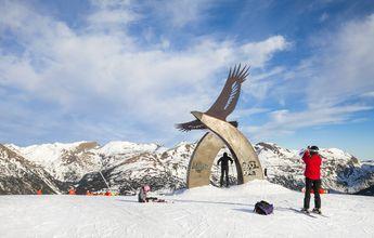 Grandvalira cierra el Puente con unos 60.000 esquiadores
