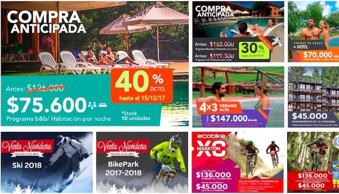 promociones nevados de Chillán