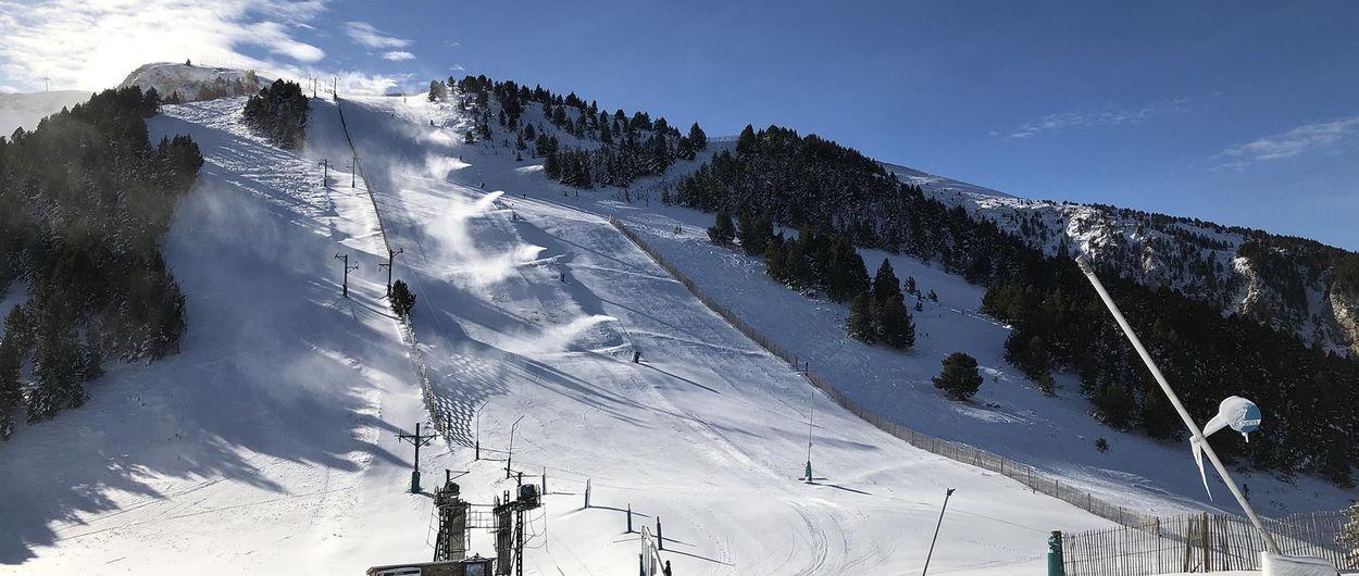 Masella abrirá con la mayor cantidad de km esquiables de la península
