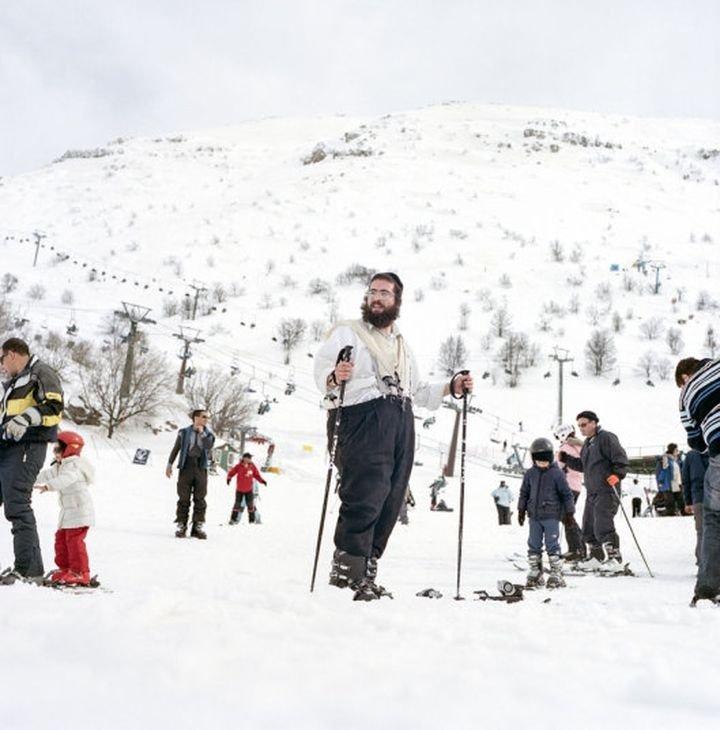 Judio en Mt. Hermonn