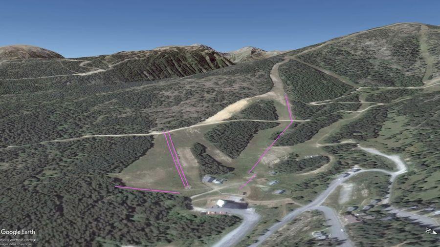 Vista Google Earth Puyvalador 2019/20