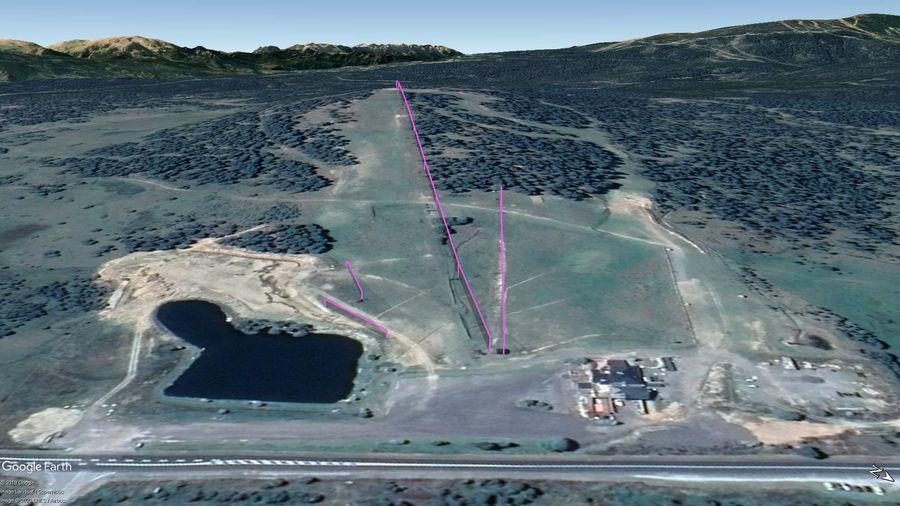 Vista Google Earth La Quillane 2019/20