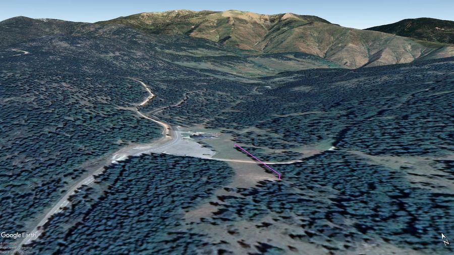 Vista Google Earth Domaine de la Llose 2019/20