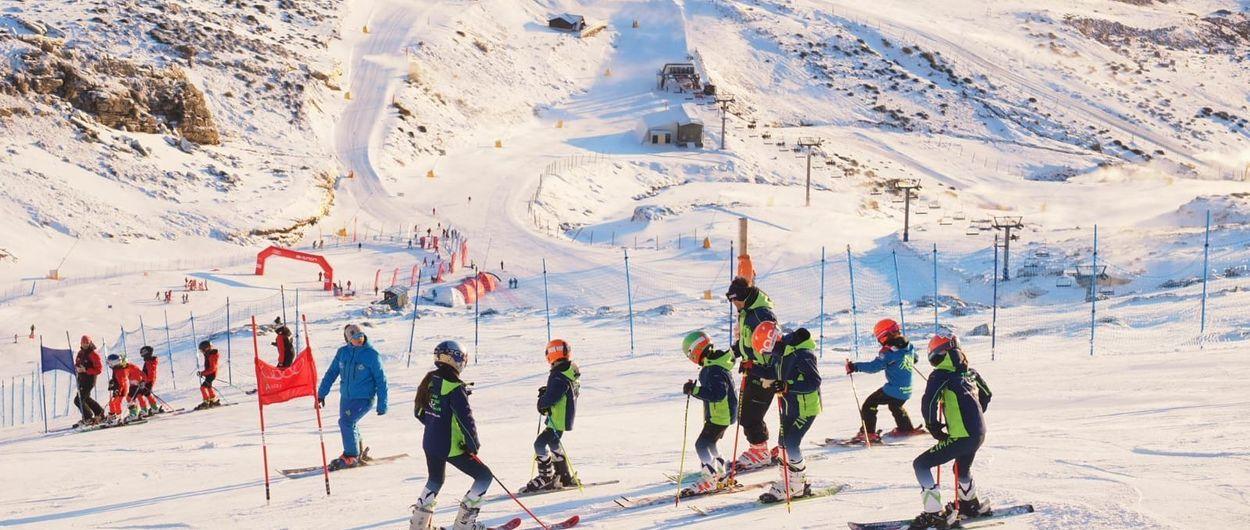 Los esquiadores madrileños dominan el Trofeo 50 Aniversario Alto Campoo