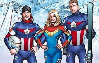 Spyder viste al U.S. Ski Team como los superhéreos de la Marvel