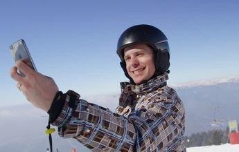 Los selfies provocan más accidentes entre esquiadores expertos