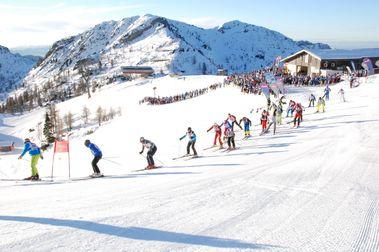 Schlag das ASS: La carrera de esquí alpino más larga del mundo