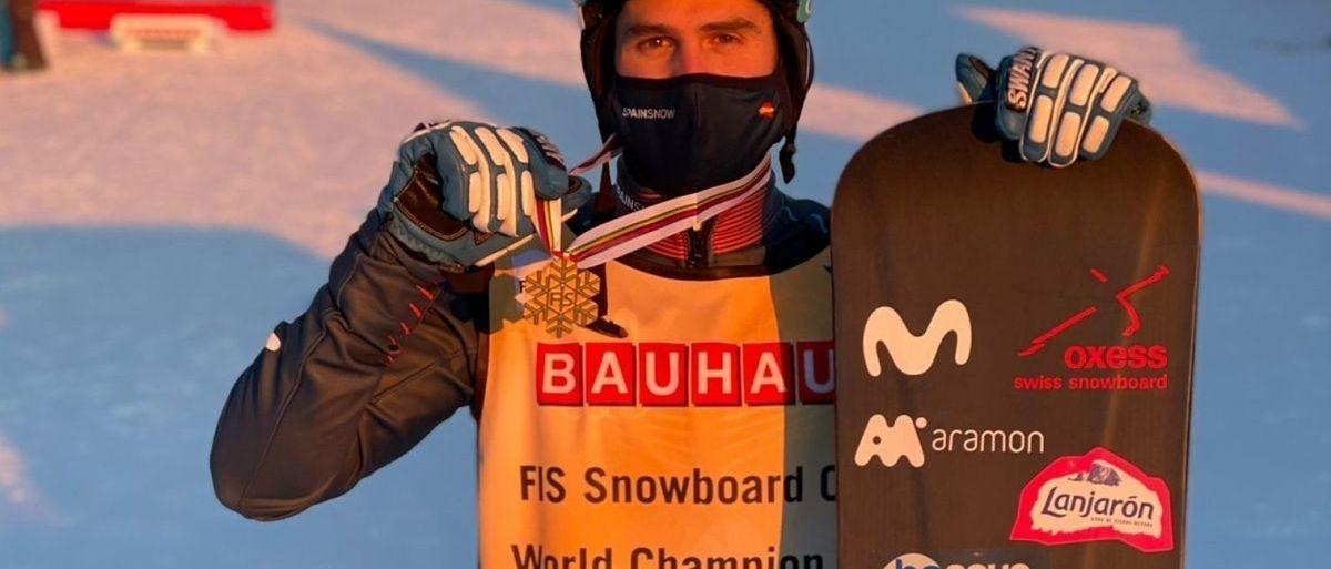 Lucas Eguibar se proclama Campeón del Mundo de SBX