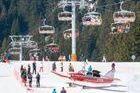 Esquiador herido en Avoriaz al caer una avioneta en pistas