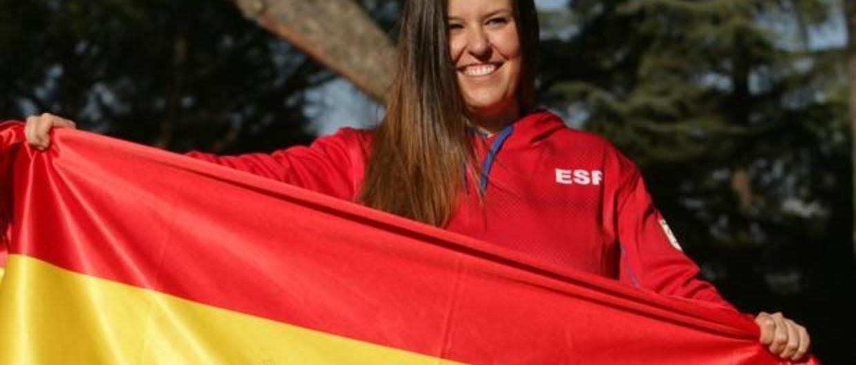 Astrid Fina gana la medalla de bronce en el SBX de PyeongChang 2018
