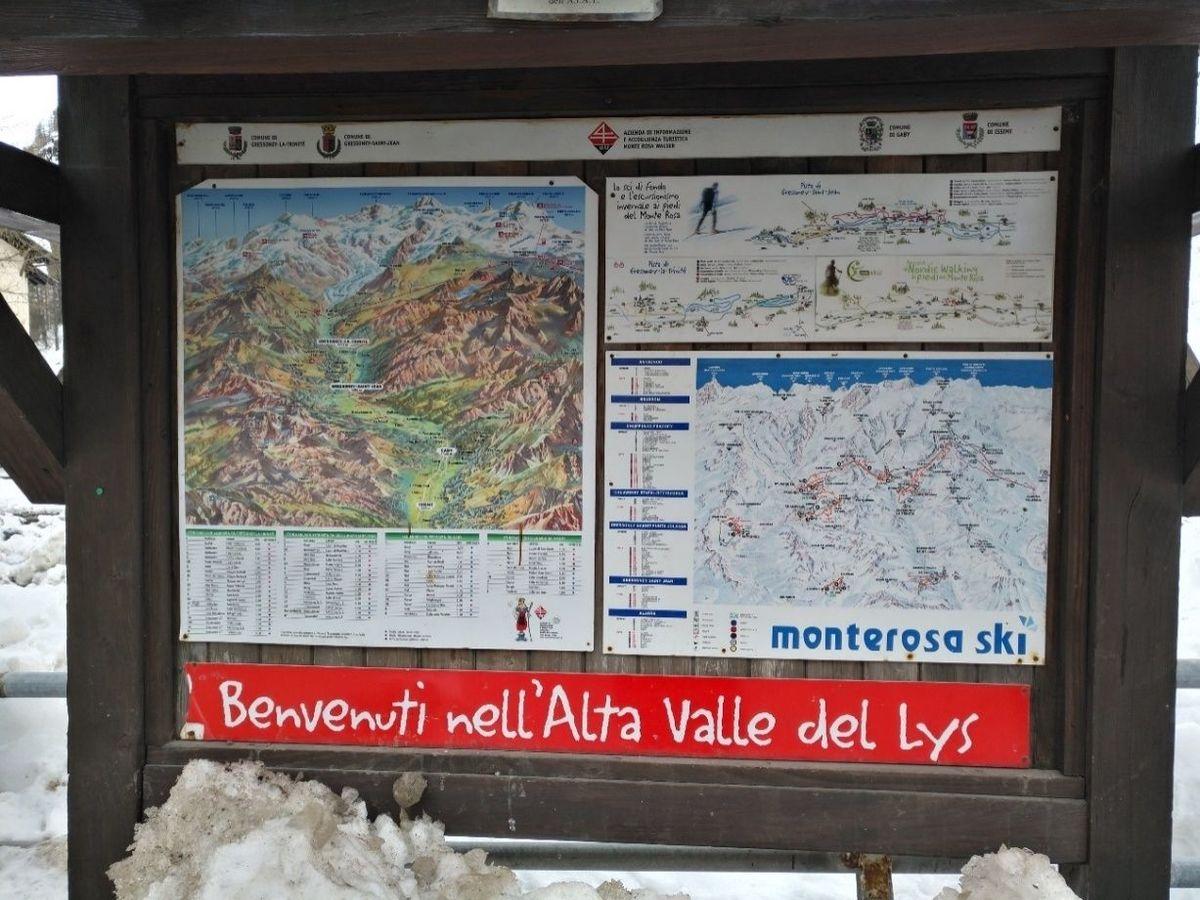 Una semana en de viaje al Monterosa