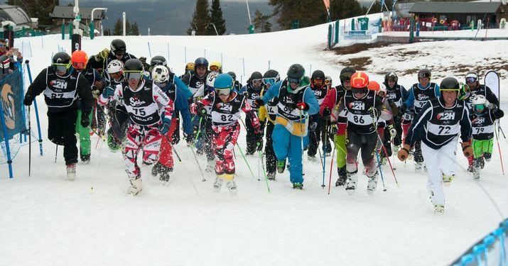 La maratón del esquí: no se puede esquiar más!