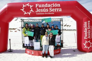 Ona Rocamora y Ricard Ortega ganan el XII Trofeo Jesús Serra de Baqueira