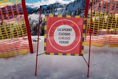 El Coronavirus empieza a cerrar estaciones de esquí de los Alpes y de España