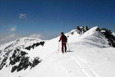 Loma Púa y Río Veleta con esquís