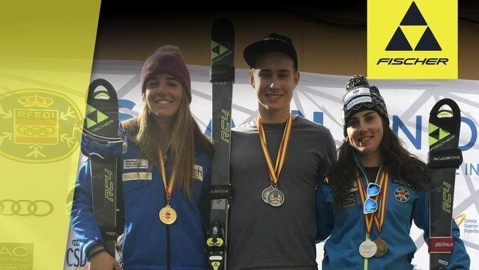 6 medallas para el Team Fischer en la Copa de España