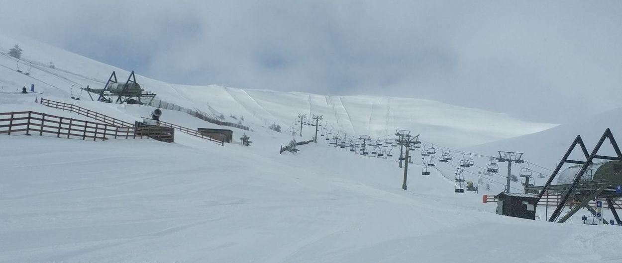 Valdesquí y Navacerrada abren con más de 1 metro de nieve nueva