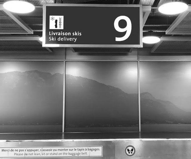 Ski delivery - Aeropuerto de Ginebra