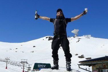 12 de Mayo: sidra, Ascensor y 5 metros de nieve