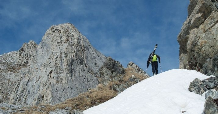 Esquí de primavera en la Forcanada, Val d'Aran