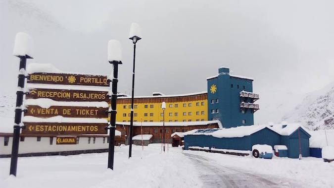 Centros de ski recibieron primera gran nevada