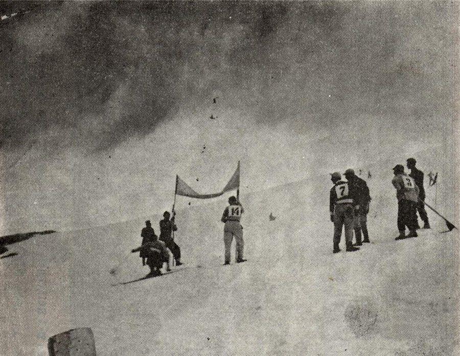 Hace 60 años se realizó el primer y último campeonato nacional de esquí alpino en Venezuela.