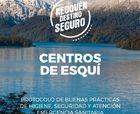 Centros de esquí de Neuquén ya tienen protocolo por emergencia sanitaria