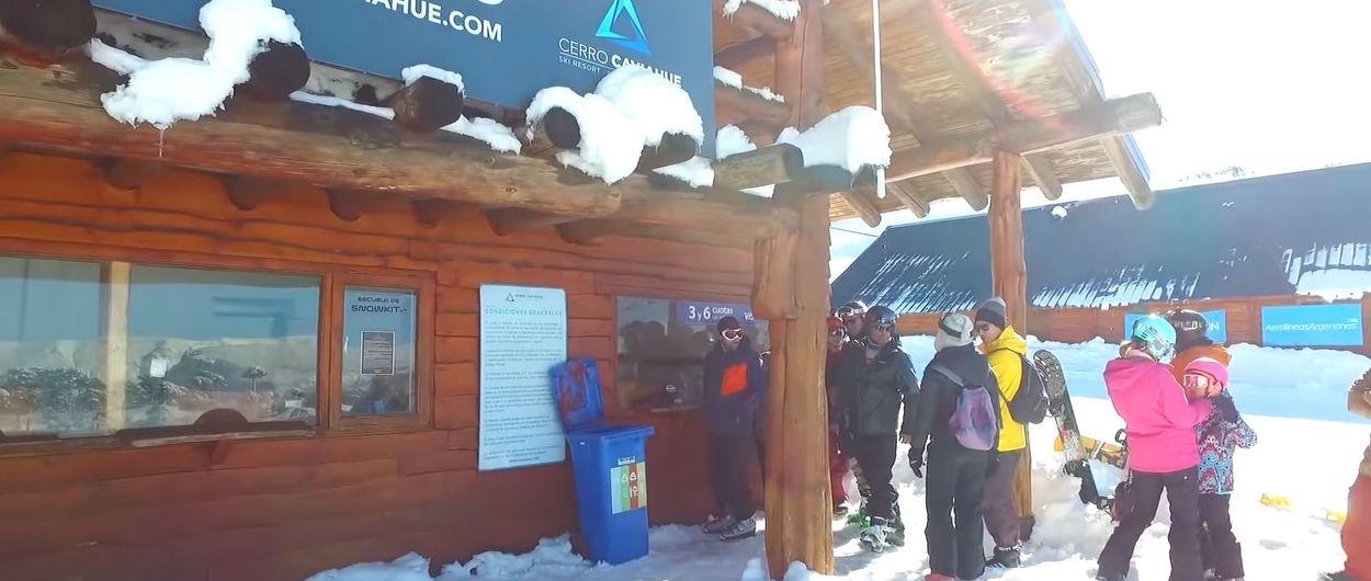 Extensísimo protocolo anti COVID-19 de las estaciones de esquí en Argentina