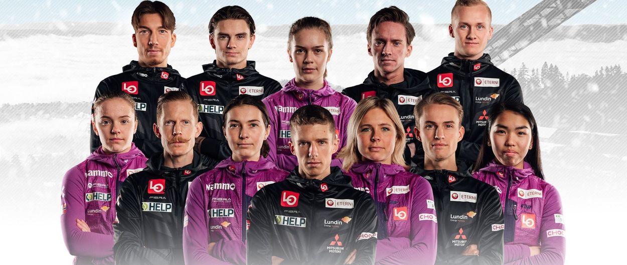 El equipo de saltos de noruego es el primero de la historia del esquí en ser mixto