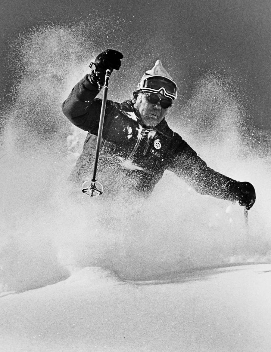 Alf Engen, pionero de la nieve profunda