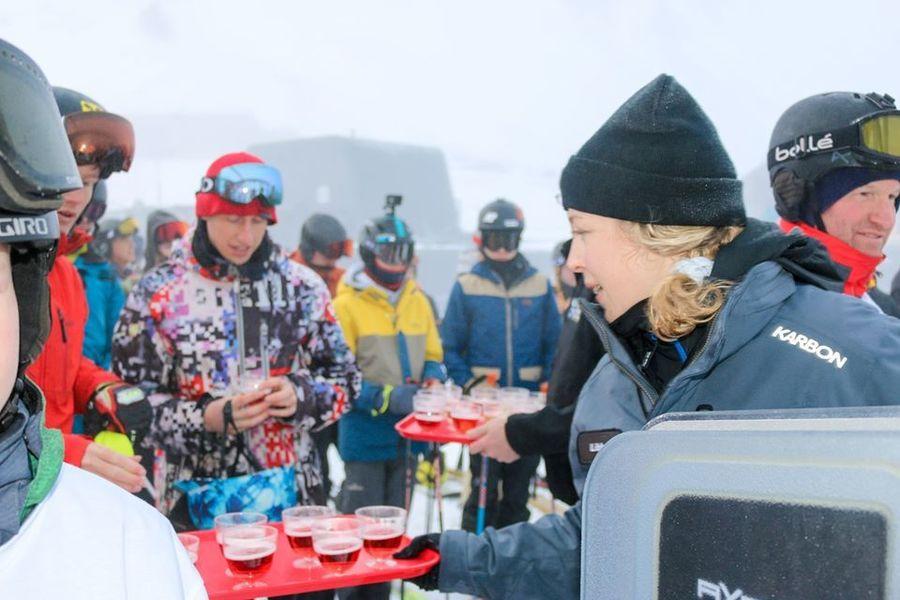 Mt hutt fiesta apertura esqui